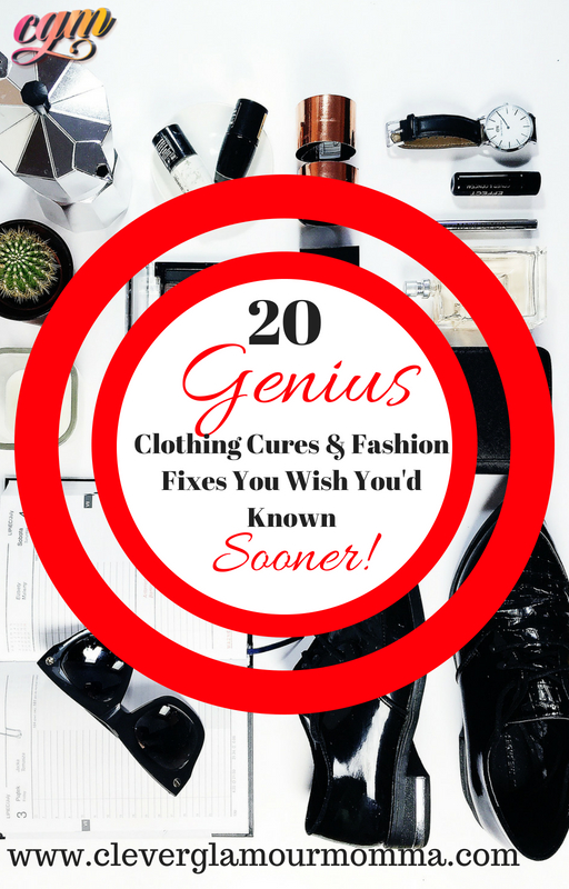 Genius Clothing Cures & Fashion Fixes You Wish You'd Known Sooner. www.mstudymotivation.com