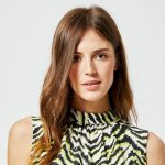 Dorethy Perkins Neon Zebra Print Sleeveless Top