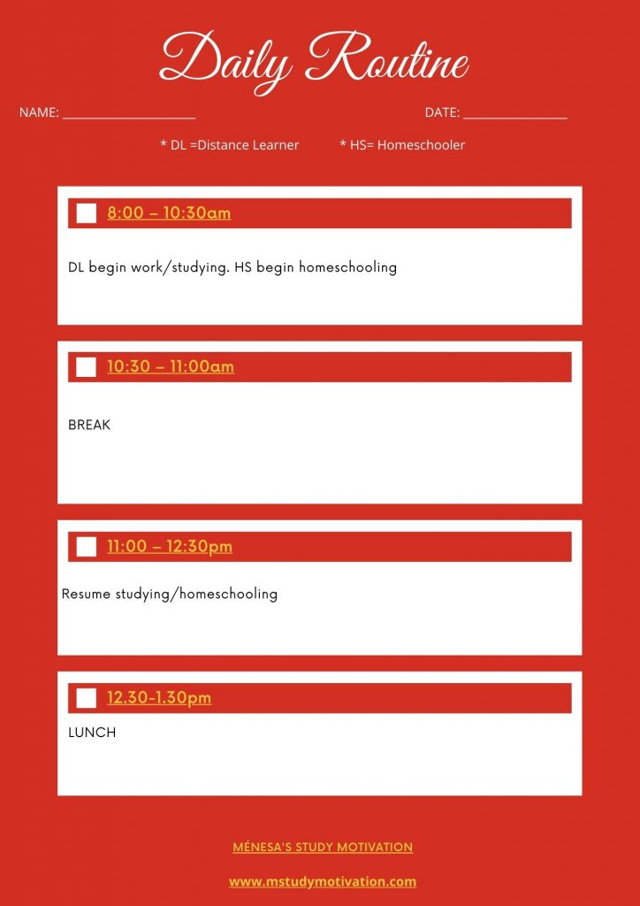 7 Strategies to Improve Your Time Management, Organisation & Productivity, So You Get More Done In Less Time. Ménesa's Study Motivation. time management, productivity, organisation, distance learning, homeschooling, distance learner, homeschooler, study skills, study confidence, productivity