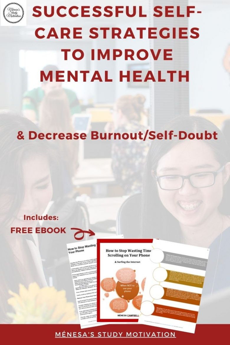 & Decrease Burnout/Self-Doubt